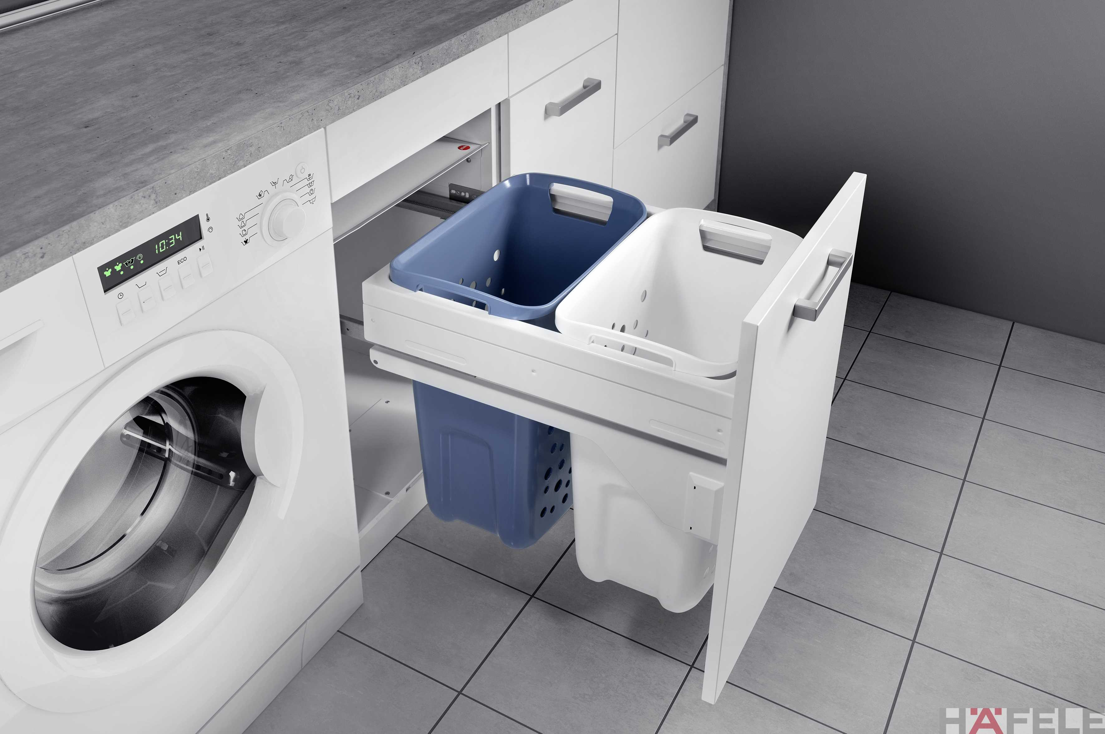 Pull Out Laundry Basket | Built In Laundry Basket |