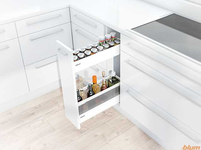 Narrow Cabinet From Blum Kitchen Renovation Idea Williams Cabinets