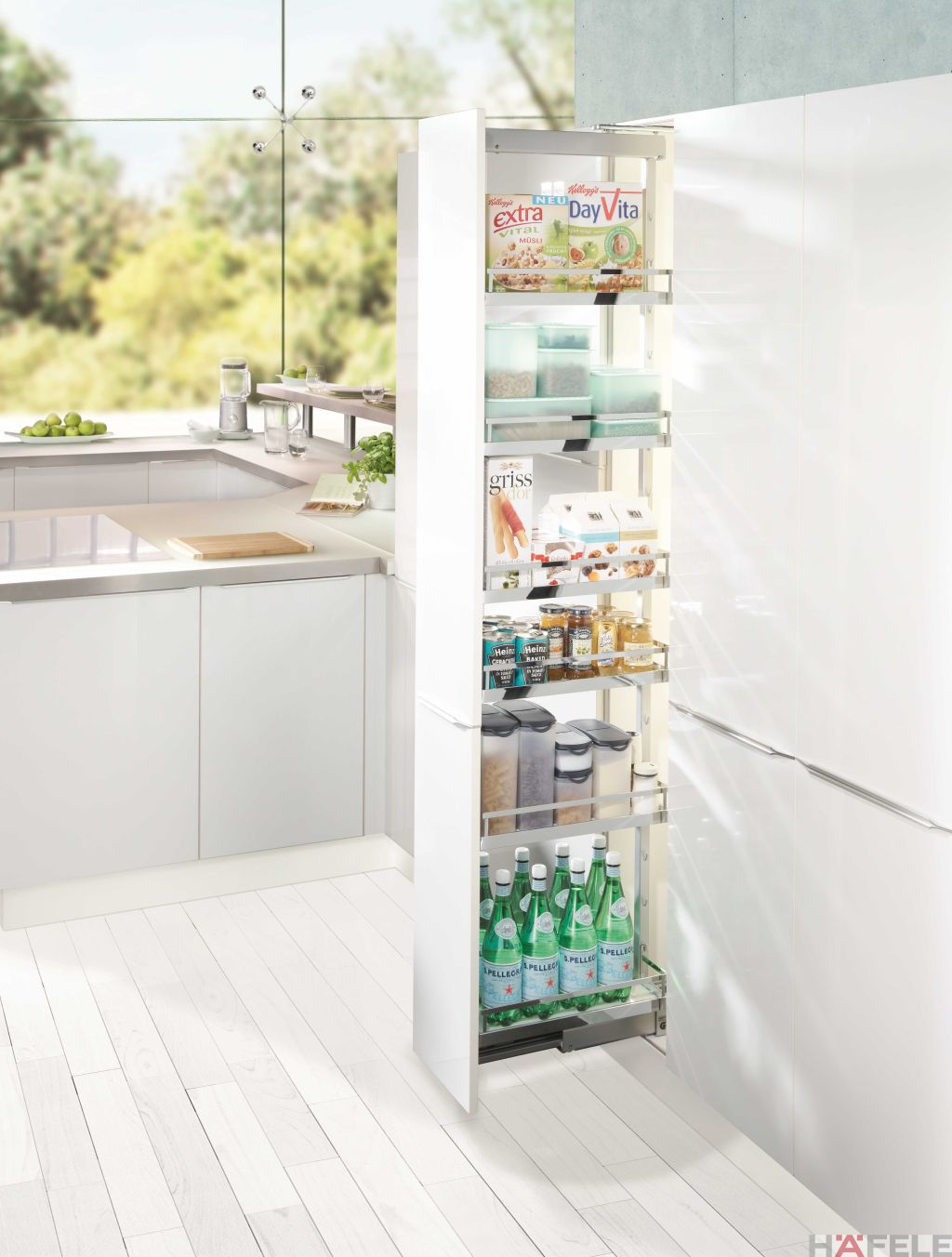 Kitchen Pantry Ideas | Kitchen Pull Out Pantry | Hafele