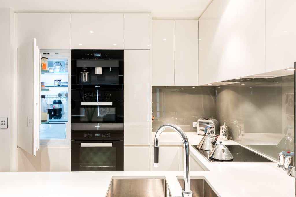 Integrated Kitchen Design Melbourne Williams Cabinets