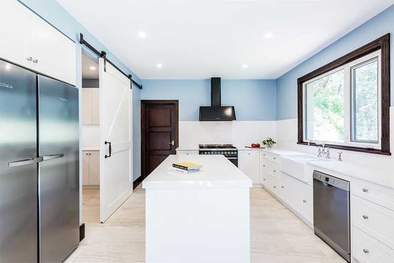 Modern Country Kitchen Designs Melbourne Williams Cabinets