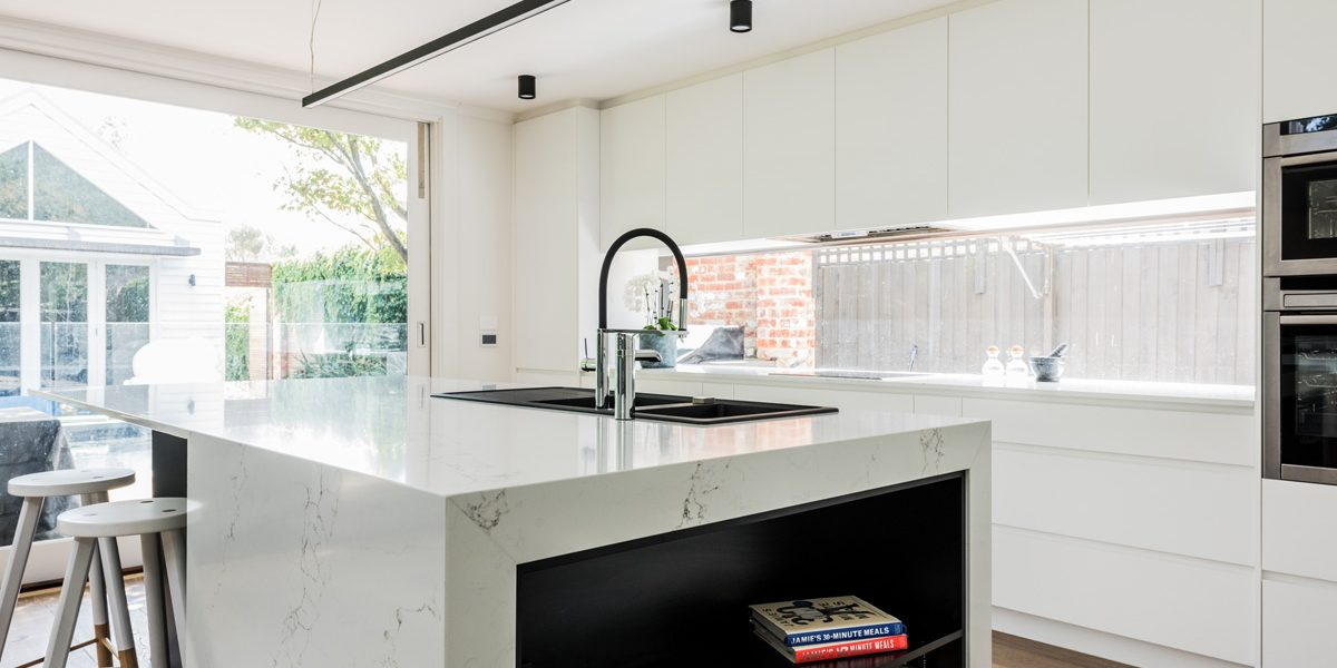 Kitchen Renovation Brighton | Kitchen Renovations Melbourne | After: Kitchen  | Williams Cabinets